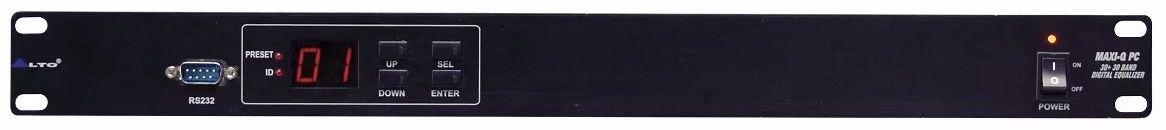 Equalizador Digital Alto Maxi-q Pc 30 Bandas (Novo)