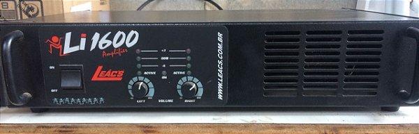 Amplificador Leács Li 1600 - 400 Wrms (Usado)