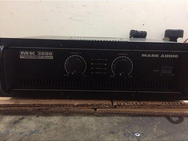 Amplificador Mark Audio Mk3600 - 600wrms