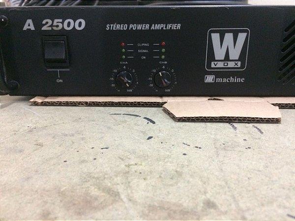 Amplificador Machine Wvox A 2500 - 600wrms