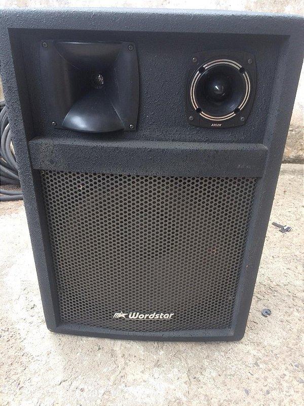 04 caixas 3 vias c/ falante de 15' 200 WRMS c/ divisor novo (Usado)