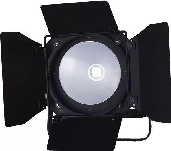 Canhão Refletor Fresnel Led 200w DMX - Branco Quente/ Branco Frio