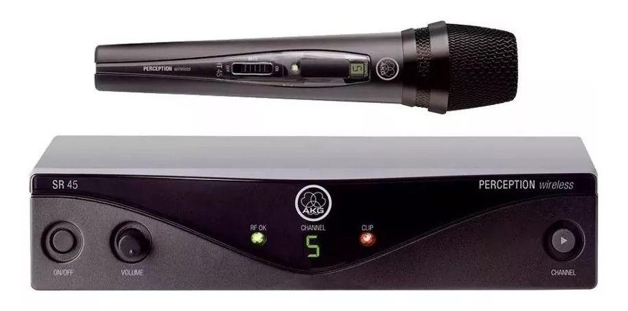 Microfone AKG S/ Fio Perception Wireless 45 Pw Vset