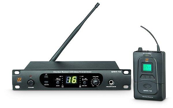 Sistema de Fone STANER In-Ear S/ Fio SRM-1E/SRM-1R