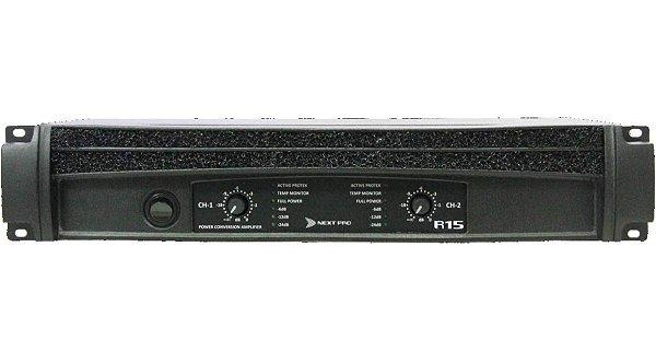 Amplificador De Potência NEXT PRO R-15 - 15000 WRMS - Bivolt