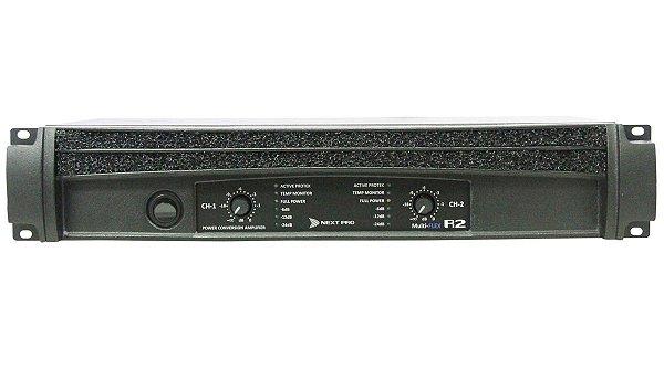 Amplificador De Potência NEXT PRO R-2 - 2400 WRMS - Bivolt
