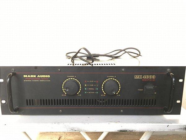 USADO: Amplificador Mark Audio MK-4000 - 920WRMS