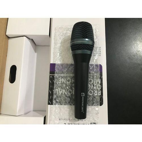 Microfone Dinâmico Relacart SM-300N com fio