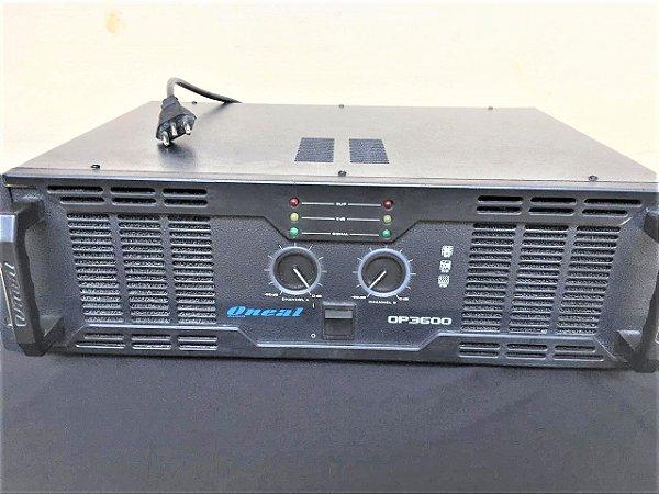USADO: Amplificador Oneal OP 3600 - 700WRMS
