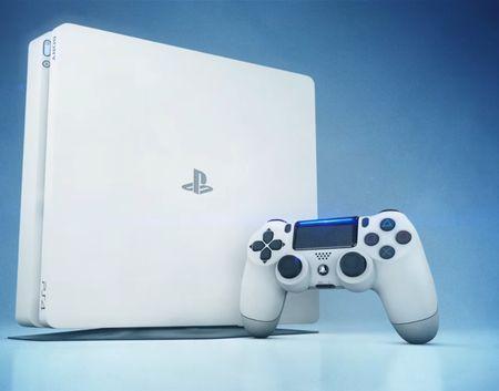 Console Playstation 4 500GB SLIM 500GB Branco