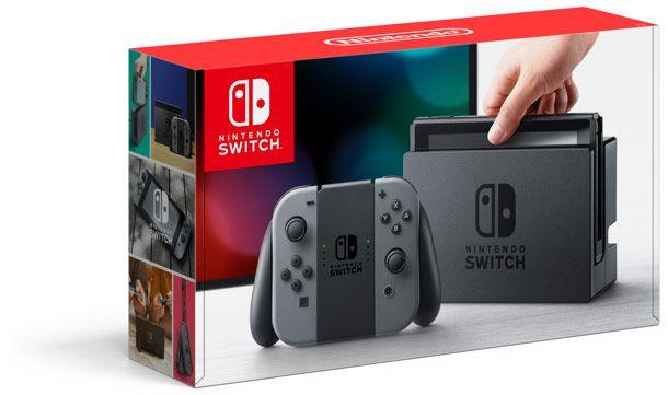Console Nintendo Switch Preto