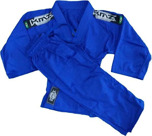 Kimono Judo Infantil Reforçado KMZ Azul