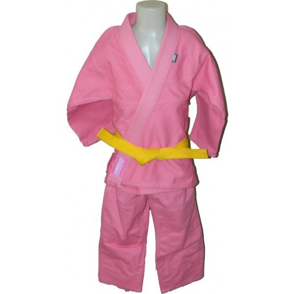Kimono Judo Infantil Trançado KMZ Rosa