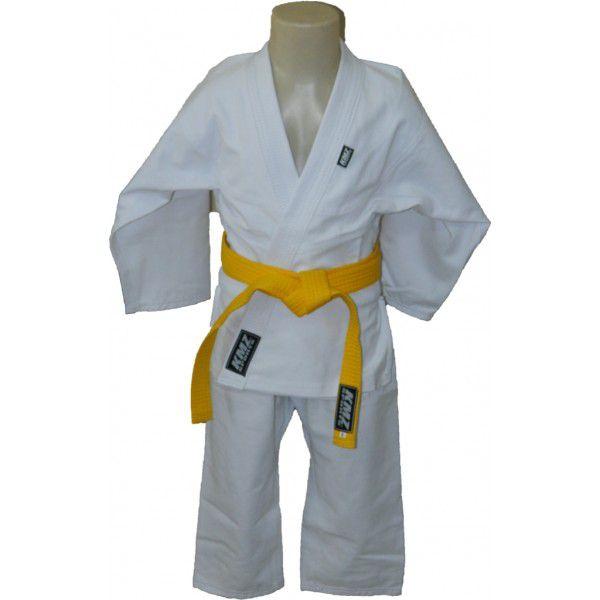 Kimono Jiu jitsu Infantil Trançado KMZ Branco