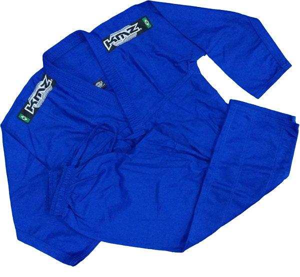 Kimono Judo Adulto Reforçado KMZ Azul