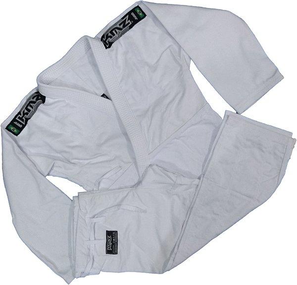 Kimono Judo Adulto Trançado Leve KMZ Branco