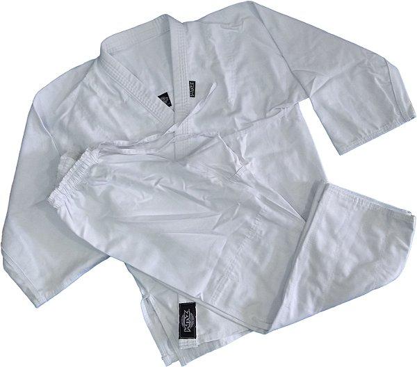 Kimono Karate Adulto Branco Brim KMZ