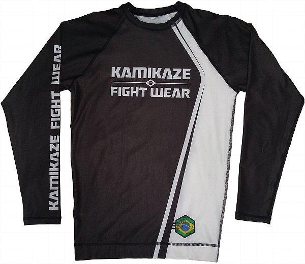 Rash Guard Kamikaze Competidor Preta