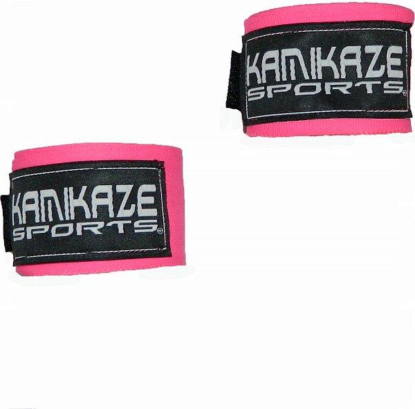 Bandagem 3 metros Rosa Kamikaze
