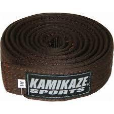 Faixa Kamikaze Marrom