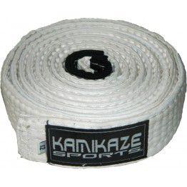 Faixa Kamikaze Branca com Ponteira