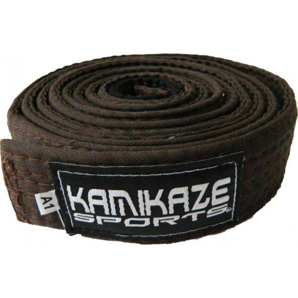 Faixa Kamikaze Sports Marrom c/ponteira