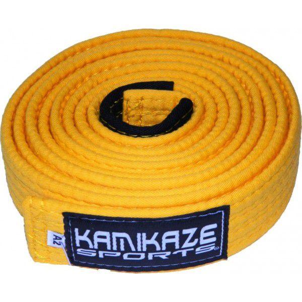 Faixa Kamikaze Sports Amarela c/ponteira