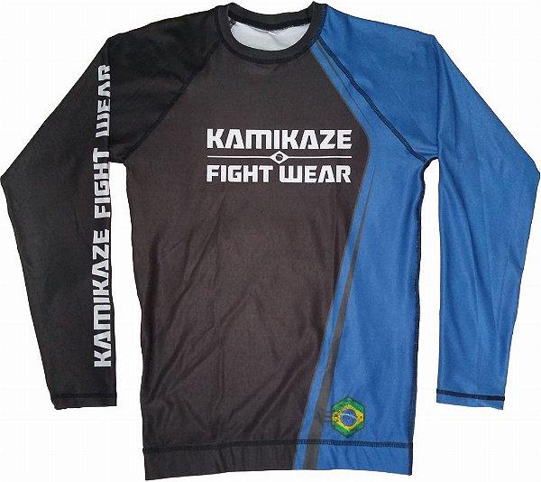 Rash Guard Kamikaze Competidor Azul
