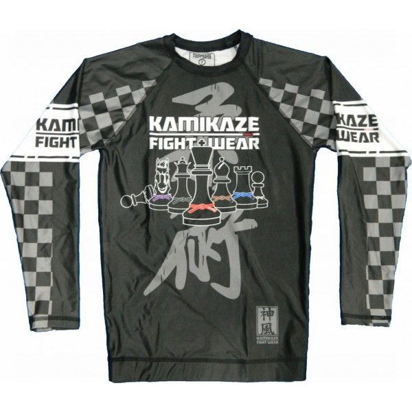 Rash Guard Xadrez