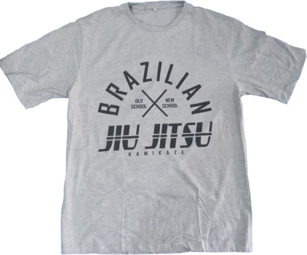 Camiseta jiu jitsu new x old kamikaze