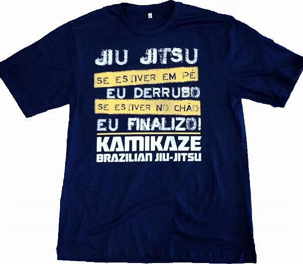 Camiseta Jiu Jitsu Derrubo e Finalizo