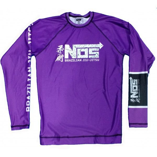 Rash Guard Roxa NOS submission Series