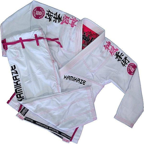 kimono k2 18 Branco Feminino