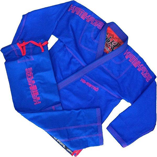 Kimono K2 Retrô Azul