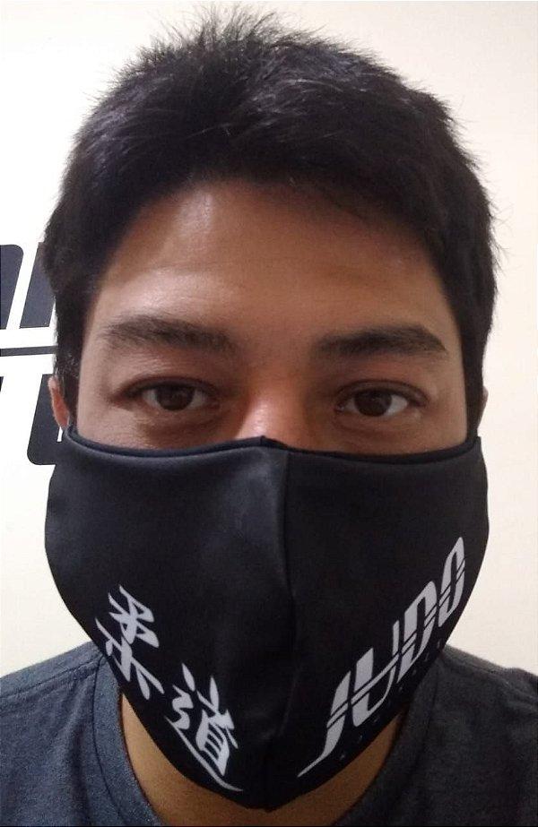 Máscara Preta Judo
