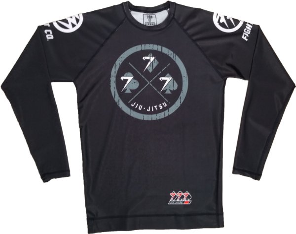 Rash Guard 777 Preta Lucky Day