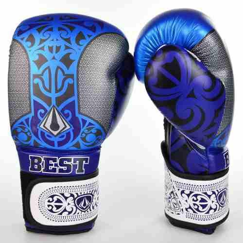 581bac112 LUVA MAORI BEST DEFENSE PRETA AZUL 16OZ - Head Coach Sport Store