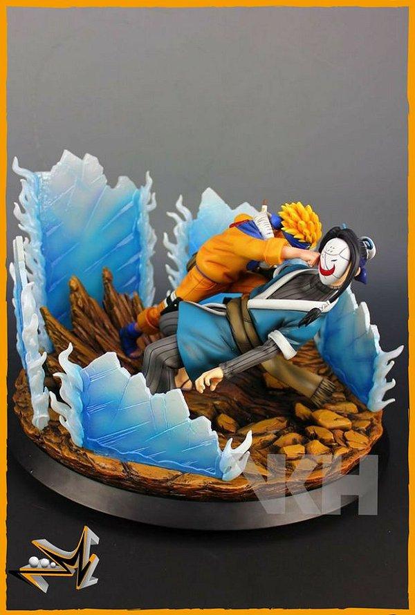 Naruto Vs Haku - Diorama - VKH