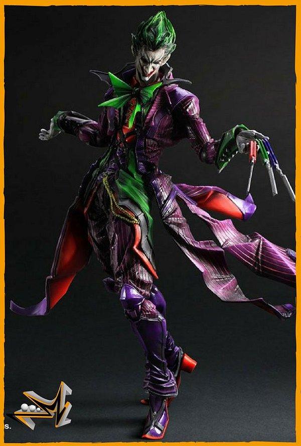 Joker Ation Figure Dc Comics - Play Arts Kai