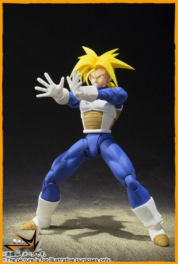 Trunks Super Sayan Dragon Ball Z S.H.Figuarts - Bandai