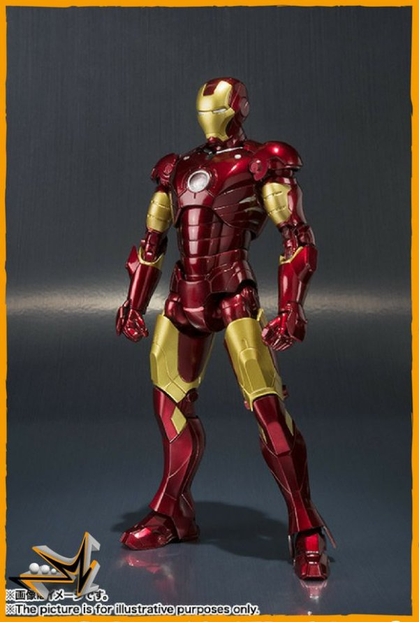 Iron Man Mark III S.H.Figuarts Action figure Marvel - Bandai
