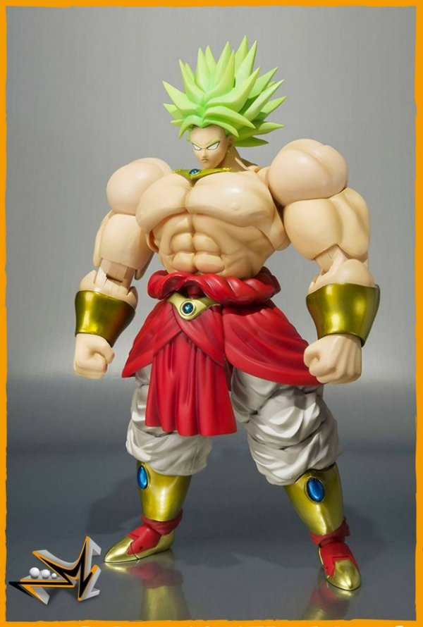 Broly Super Saiyan Dragon Ball S.H.Figuarts - Bandai