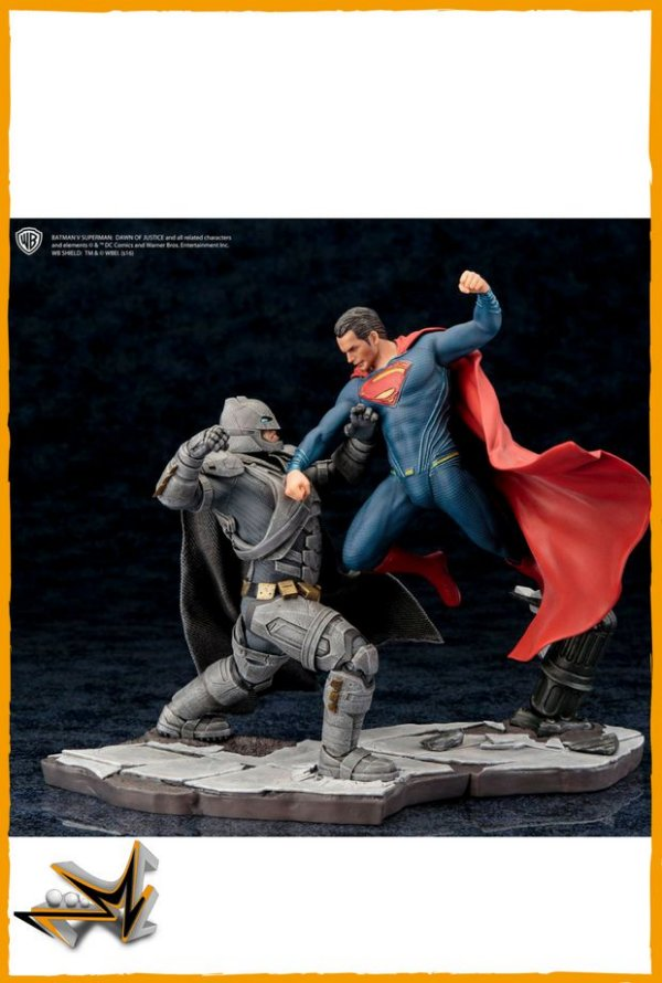 Batman Vs Superman Diorama 1/10 Dc Comics - Kotobukiya