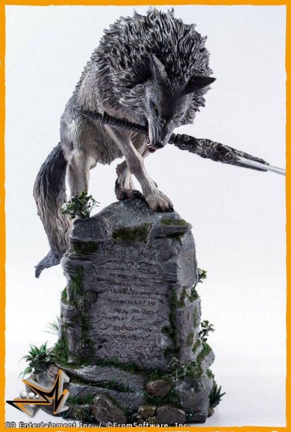 Sif Great Grey Wolf 1/4 Dark Souls - First 4 Figures