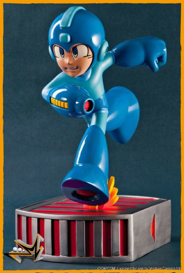 Megaman Running Capcom - First 4 Figures