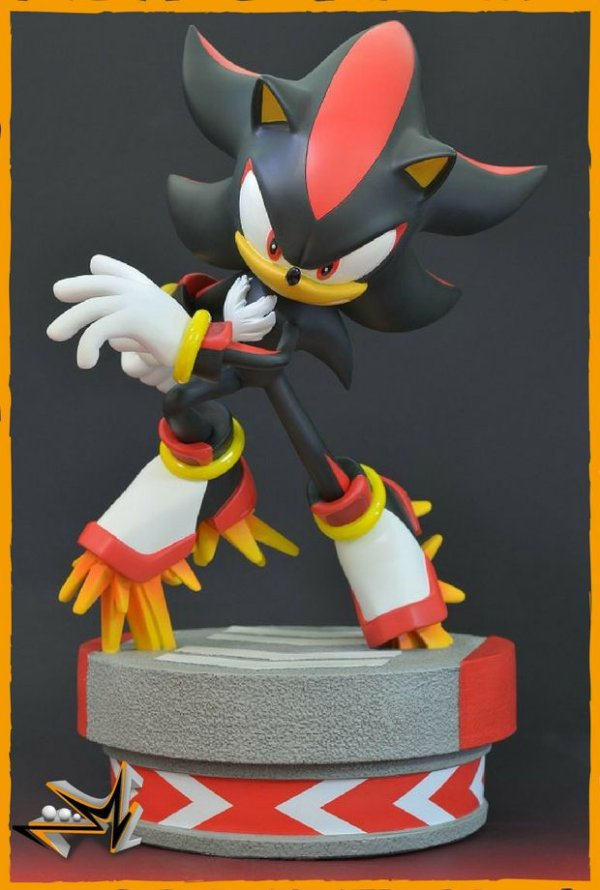 Sonic Shadow The Hedgehog - First 4 Figures