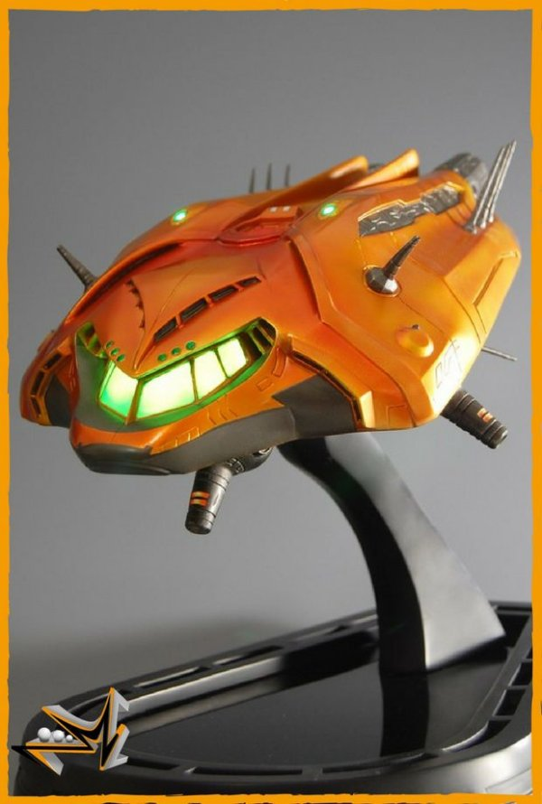 Metroid Prime Gunship Metroid - First 4 Figures