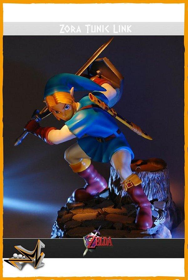 Link Túnica de Zora Zelda Ocarina Of Time - First 4 Figures