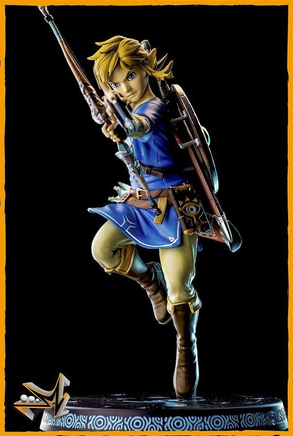 Link Zelda Breath of the Wild - First 4 Figures
