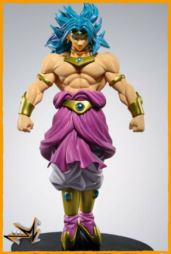 Broly Dragon Ball Z Scultures Colosseum - Banpresto
